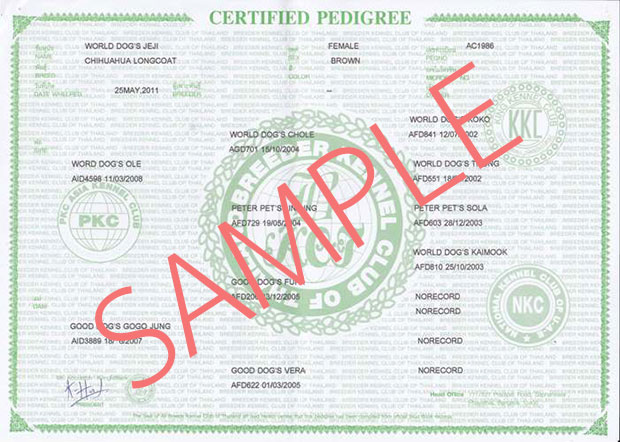 Pedigree Certified